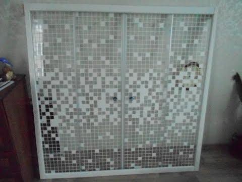 Как собрать.Стеклянная шторка экран на ванну.Фирма Triton-Москва.Установка шторки в ванной