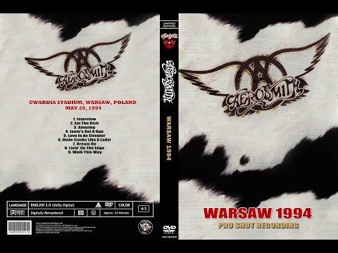 Aerosmith Live in Warsaw Poland 1994 5 29