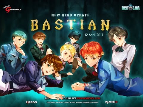 [Lost Saga INA]New Hero Idol Bastian