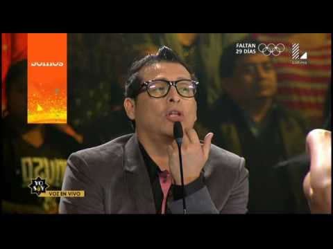 "Imitador de Javier Solís conquistó a todos con ""Escándalo"""
