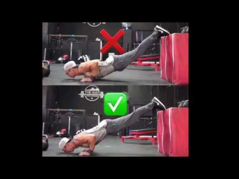 How to perform decline push ups with good form