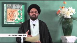 The Sings Of Reappearance Of The IMAM MAHDI AJTF Part 10 By Allama Syed Shahryar Raza Abidi