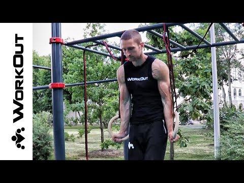 30 лучших упражнений с гимнастическими кольцами | Никита | Магазин WORKOUT