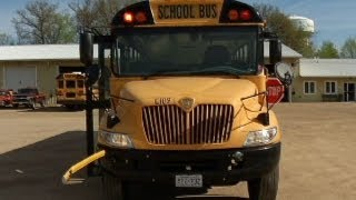 Study: drivers not following school bus stop laws