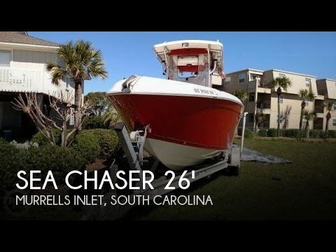 [SOLD] Used 2005 Sea Chaser 2600 Offshore Series in Murrells Inlet, South Carolina
