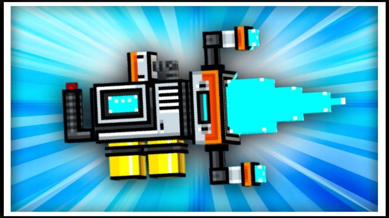 pixel gun 3d energy drill review youtube
