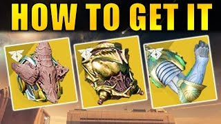 Destiny 2: How to Get The Wormgod Caress, Wormhusk Crown, & Verity's Brow Exotics! | Warmind