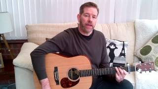 Hold Me Now - Thomson Twins acoustic lesson