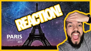 PlayStation Live from Paris Games Week 2017 | Live Reacts