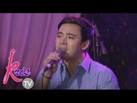 Erik Santos sings 'Kung Ako na Lang Sana' on KrisTV