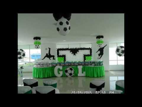 Fiesta Infantil Estilo Futbol