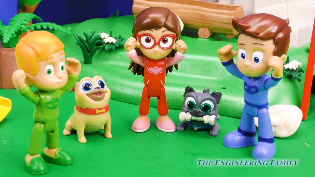 PJ Masks And Paw Patrol Use Transforming Towers For Puppy