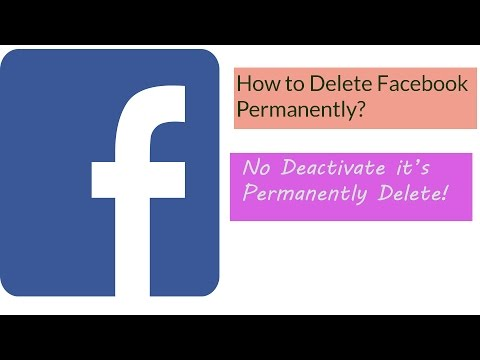 Simple Ways To Delete Your Facebook Account Permanently in 2017