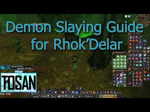 Classic Hunter Guide Leaf Quest Slaying Demons For Rhok Delar Youtube