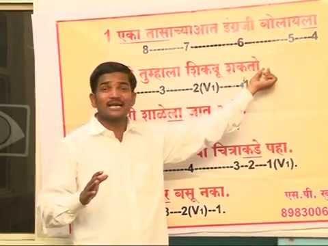 ESL - Spoken English through Marathi. Learning.  Videos. Course.Class. Tutorials. lessons.