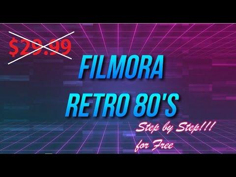Filmora Retro'80 Pack
