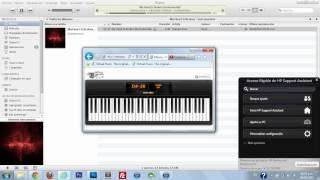 Evanescence - My Heart is Broken HD Version with Music Sheet (Virtual Piano)