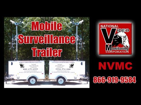 Mobile Surveillance Trailer - Why a Mobile Security Trailer Makes  Sense for your Business