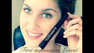 Πρώτες εντυπώσεις/First impressions L'oreal Telescopic Mascara Thumbnail