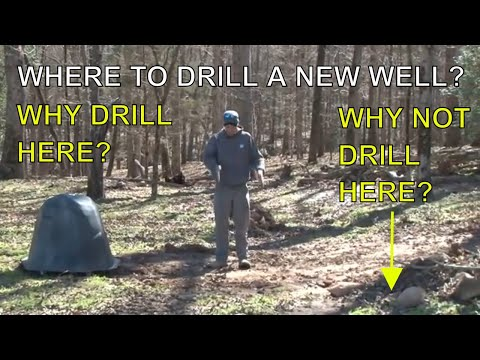 Drilling a Well | Where to Drill a Well on Your Property