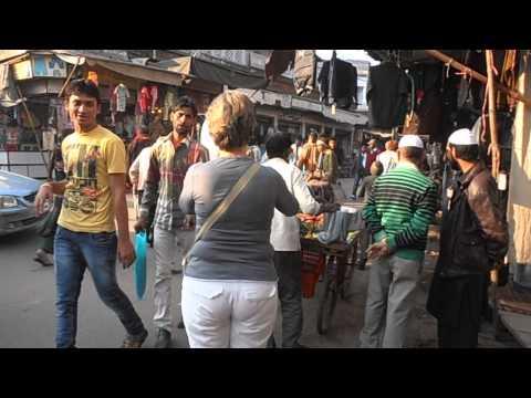 De Kinari Bazaar in Agra