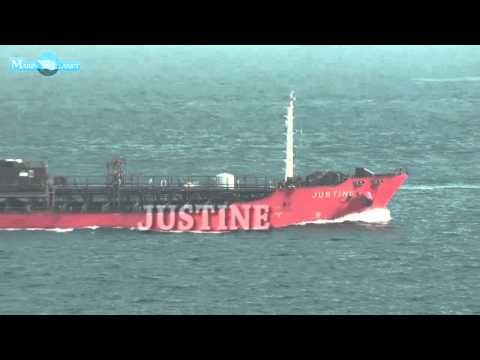 MERCHANT NAVY JUSTINE CHEMICAL TANKER SHIP