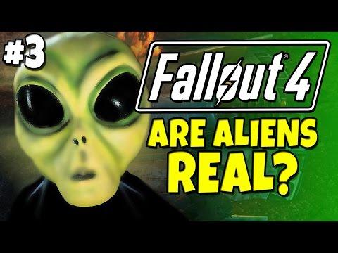 """Fallout 4 - Are Aliens Real? Alien Blaster #3 """"Semi-Spoiler"""""""