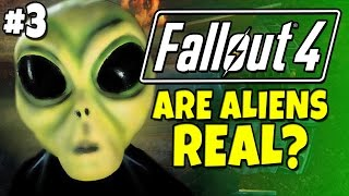 "Fallout 4 - Are Aliens Real? Alien Blaster #4 ""Semi-Spoiler"""
