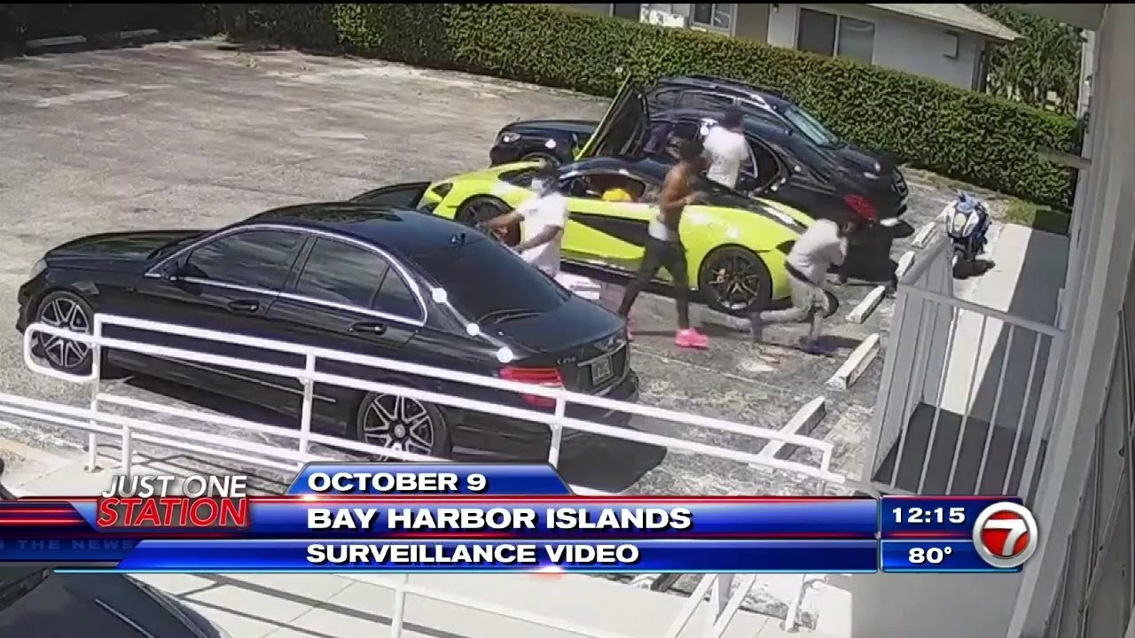 Download Video shows Bay Harbor Islands shootout involving rapper Pooh Shiesty
