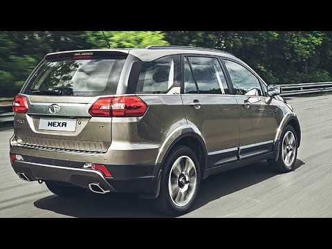 new car launches in chennai2016 Tata Hexa Crossover SUV First Look India  Preview Price
