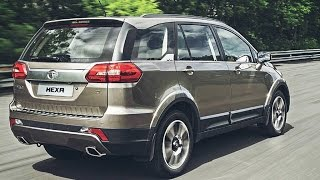 2016 Tata Hexa Crossover SUV First Look India || Preview Price Specs Launch Date
