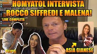 HOMYATOL INTERVISTA ROCCO SIFFREDI E MALENA CON LUIS,SDRUMOX E ASIA GIANESE | HOMYATOL LIVE