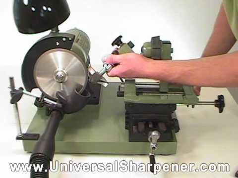 How To Sharpen Router Bits Video