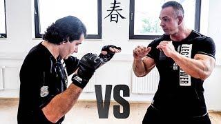 Bodybuilder vs Wing Tsun Sifu