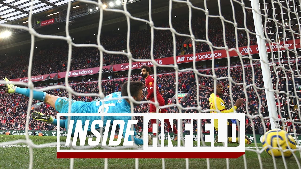 Inside Anfield: Liverpool 2-0 Watford | TUNNEL CAM