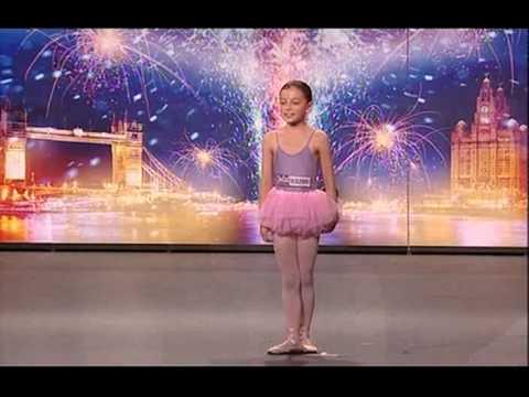 BALLERINA & SINGER  (HOLLIE STEEL)  A STAR IN THE MAKING!  BGT 2009 (HQ)