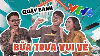 Ninh Titô quậy banh BỮA TRỮA VUI VẺ VTV6 // Tâm sự về nghề FOOD VLOGGER