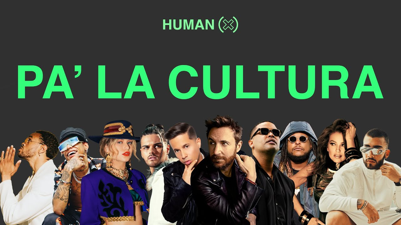 PA' LA CULTURA (Official Music Video) - David Guetta, HUMAN(X) ft. Various Artists