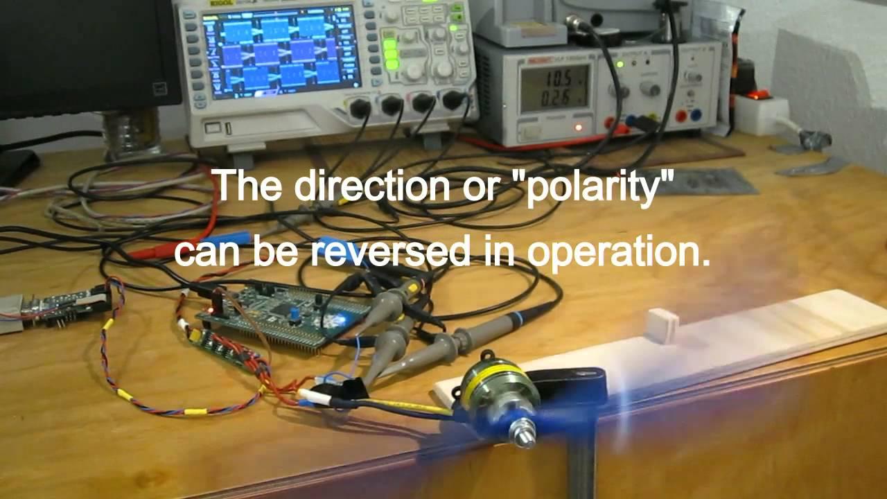 Strip v2 sensorless brushless dc bldc motor controller for Sensorless bldc motor control