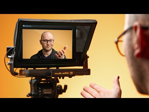 Turn a Teleprompter Into a Camera Monitor!