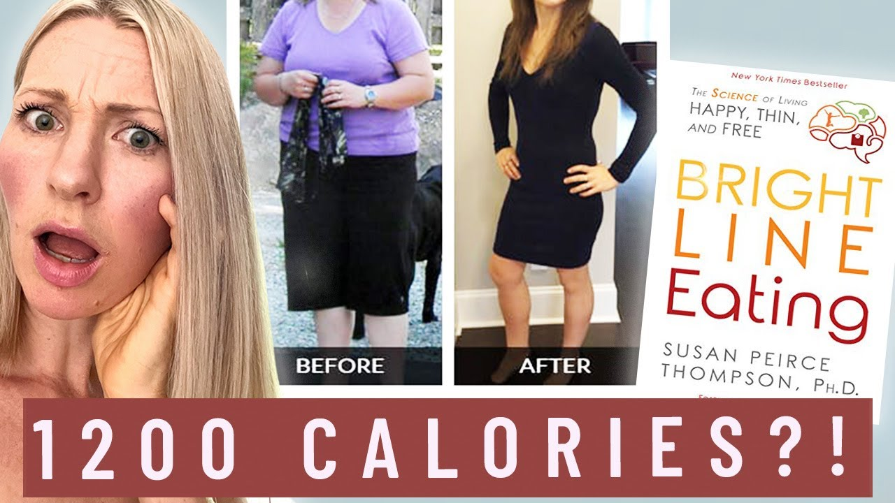 Dietitian Reviews Bright Line Eating Weight Loss Program (This is INHUMANE)