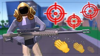 ROBLOX Strucid but EVERY shot is a GODLY NO SCOPE kill!! ... (Hardest 2019 Challenge)