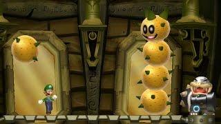 New Super Luigi U 100% Walkthrough Part 2 - World 2 (2-1,2-2, 2-3, 2-T, 2-4, 2-5, 2-6, 2-C & 2-S)