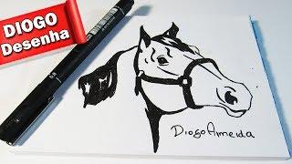 Como Desenhar um Cavalo (Desenho Simples)#2
