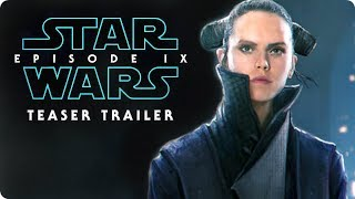 "Star Wars: Episode IX - Teaser Trailer Concept #1 (2019) ""Remember"" Daisy Ridley, Adam Driver Movie"