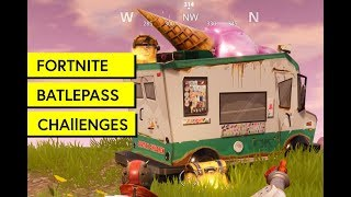 "Fortnite: ""Visit different Ice Cream Trucks"""