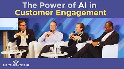 The Power of #AI in Customer Engagement in #Insurance and #Insurtech | Panel at 2020 Finovate Europe
