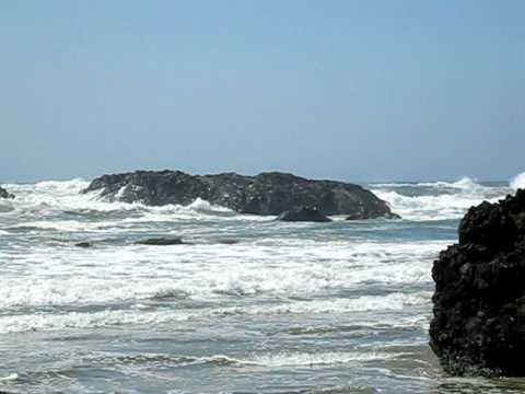 High Tide on the Pacific Coast