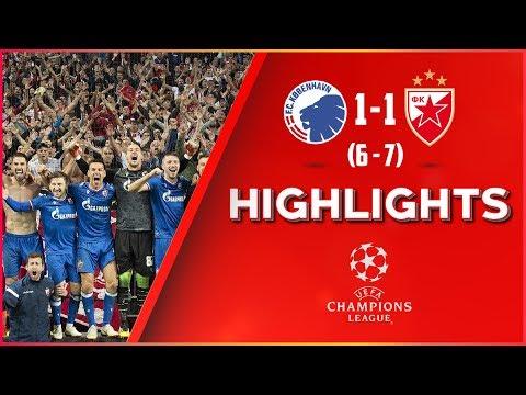 Kopenhagen - Crvena Zvezda 1:1 (penalima 6:7), Highlights