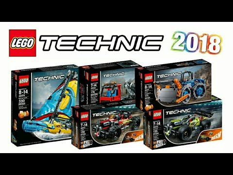 lego technic 2018 set pictures youtube. Black Bedroom Furniture Sets. Home Design Ideas